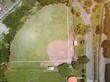 Green baseball field