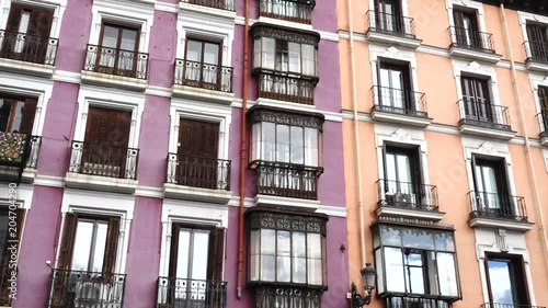 Architecture in Madrid, Spain.