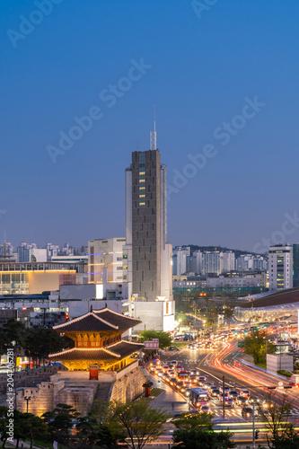 Plexiglas Seoel Dongdaemun gate Seoul