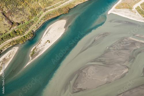 Aluminium Bergrivier Shotover River