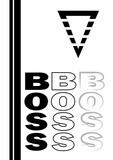 Boss sign - Vector - 204727096