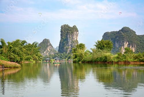 Plexiglas Guilin Li River