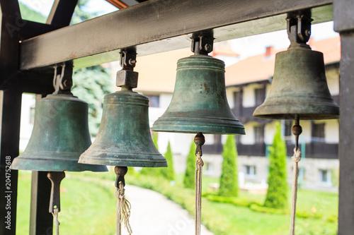 Orthodox Christianity bells Manasija Monastery