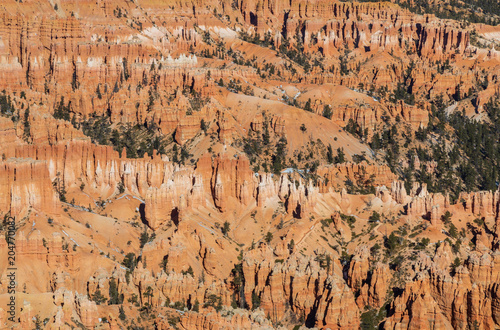 Wall mural Scenic Bryce Canyon National Park Utah in Winter
