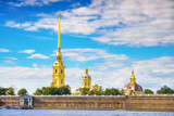 The Peter and Paul Fortress in St.Petersburg, Russia - 204774227