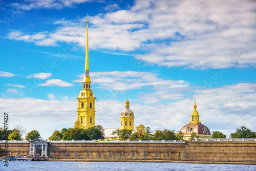 The Peter and Paul Fortress in St.Petersburg, Russia