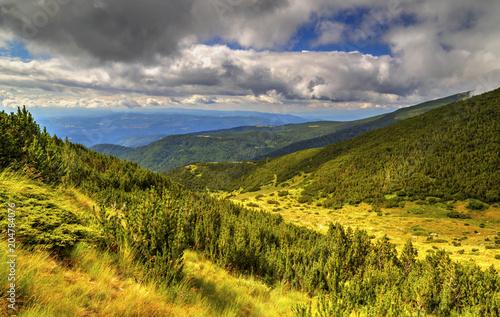 Plexiglas Honing Beautiful mountain landscape