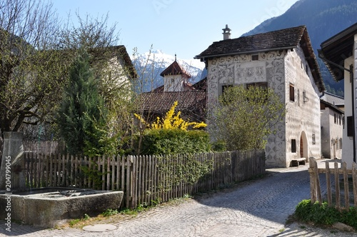 Schweiz (Graubünden) - Andeer © Buesi