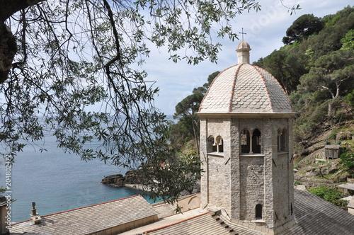 Kloster San Fruttuoso an der ligurischen Riviera bei Portofino und Camogli © Buesi