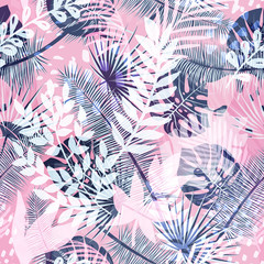 Beautiful seamless vector floral pattern background. Perfect for wallpapers, web page backgrounds, surface textures, textile and other design.