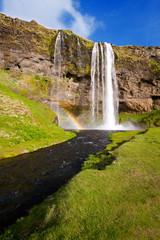 Beautiful Waterfall, Iceland