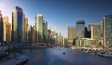Dubai Marina at sunset. UAE - 204824033