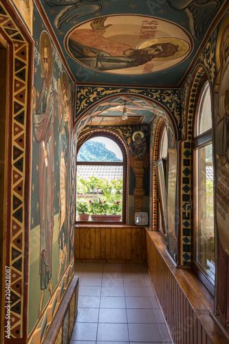Dekoracje w klasztorze