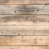 Old stained pine wood background square format - 204840408