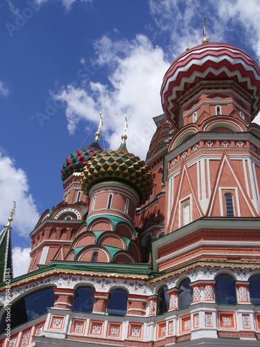 Plexiglas Moskou Architecture belief building building exterior built structure cloud - sky day dome Low angle view Nature no people ornate outdoors Place of worship religion sky Spirituality Travel travel destination