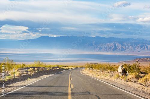 Plexiglas Galyna A. Road in prairie