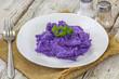 purée violette