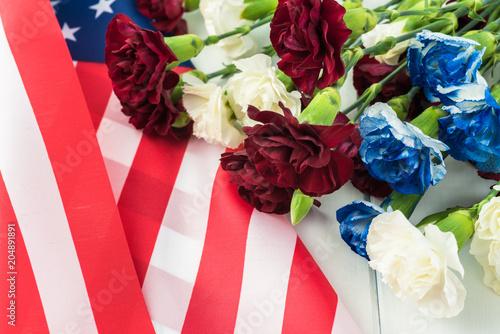 Memorial day greeting card.
