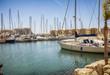 sail marina in Gibraltar, Spain