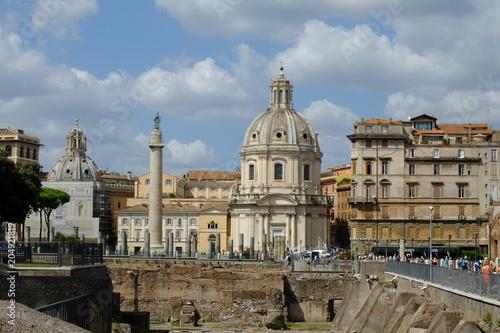 Rzym Włoski kapitał