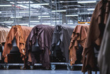 Production of leather furniture - 204941214