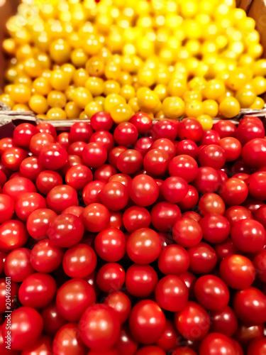 Foto Murales Tomates cerise en caisse