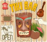 Tiki Bar Poster - 204961210