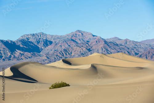 Mesquite Flat Sand Dunes, Death Valley, USA