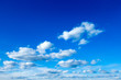 Quadro blue sky background with tiny clouds