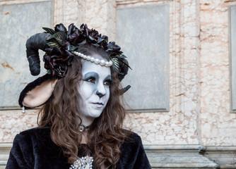Mask carnival in Venice.