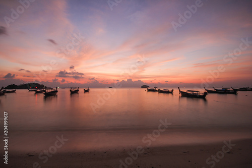 Plexiglas Zalm Lipe island, Koh Lipe, Satun province Thailand