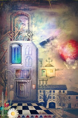 Canvas Imagination Fairyland, city of dreams