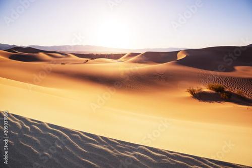 Plexiglas Galyna A. Sand dunes in California