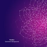 Vector geometric background - 205040254