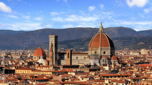 Fotobehang Florence Nice view of the city Florence in Italy