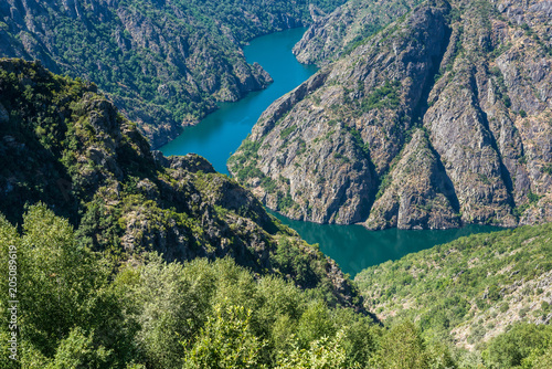 Sil Canyon in Orense, Spain