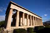 Temple of Hephaestus in Athens, Greece - 205095635