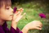 enfance et fleur