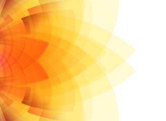 Abstract orange & yellow background.