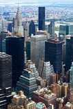 Manhattan Skyscraprers Aerial View, NYC, USA - 205103255