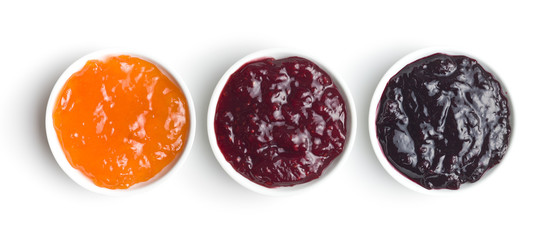 Tasty fruity jam in bowl. © Jiri Hera