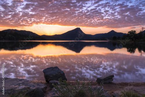 Aluminium Zonsopgang Sunrise Reflection