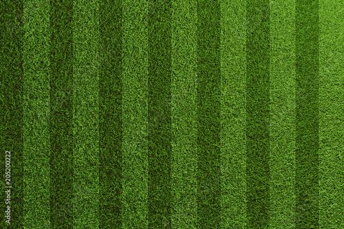 Fototapeta Fußball Gras Rasen Textur von oben