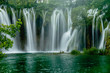 Wasserfälle im Nationalpark Plitvicer Seen - 205200807