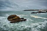 Biarritz avant la tempête