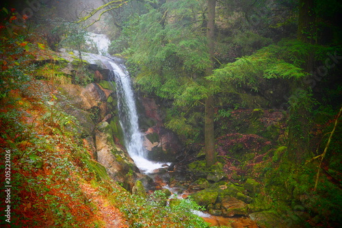 Wasserfall Nationalpark Geres Portugal