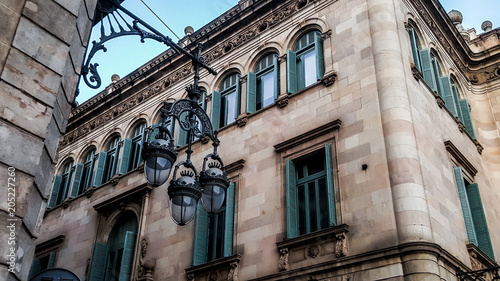 Fotobehang Barcelona Architecture of the city. Barcelona, Spain.