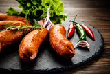 Raw sausages with and vegetables - 205242018