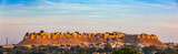 Panorama of Jaisalmer Fort known as the Golden Fort Sonar quila, - 205242040