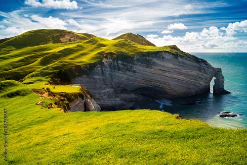 Leinwanddruck Bild Irland, Küste